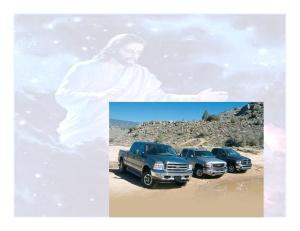 One God, many trucks.