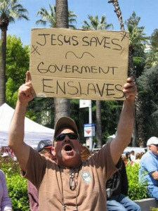 I know this seems strong, but it is true. Man's natural tendency is to gather power unto himself. Conservatism is a political movement. Christianity is a salvation movement. They could be no more opposite than east is from west. This is the argument presented in