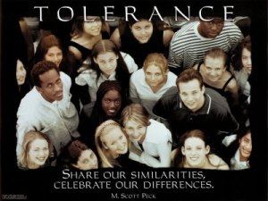 "This seems wonderful. Can't we all just get along! But the movement is not interested in mere acceptance or ""tolerance"" of differences. Note they want you to ""celebrate"" them together. Celebrate everything including their sin. This has moved to the point where people are afraid to even say, ""Hey, dude, did you know you have a blueberry on your arm?"" as if you wanted it there! See my new outfit, it's blueberry arm by Armwar!"" Go buy one!"