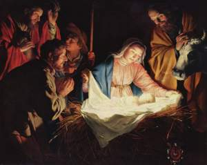 As Mary, Joseph, the Shepherds and all creation did, we should rejoice over that one first gift, the Babe.
