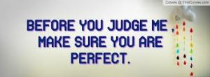 "Jesus is the perfect judge because ""He knew no sin."""
