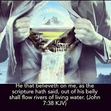 Share God's living water.