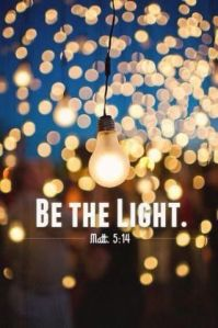 The darkness of the world needs your light Christian.