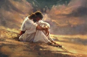 Jesus felt the full pressure of man's sin upon Him. He felt the full pressure of God's judgment for us upon Him. He felt the full pressure of man's helplessness. Is there a wonder why He was a man of sorrows? (Is 53:3)