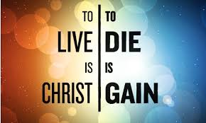 Living or dying. We choose. God always gets the final say.